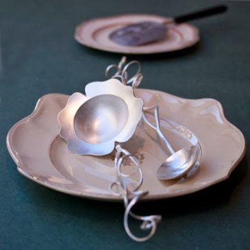 Silver skedar till julgröten! Silver spoons for Christmas porridge!