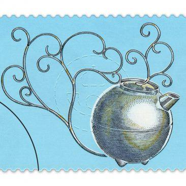 Kannan som blev ett frimärke
