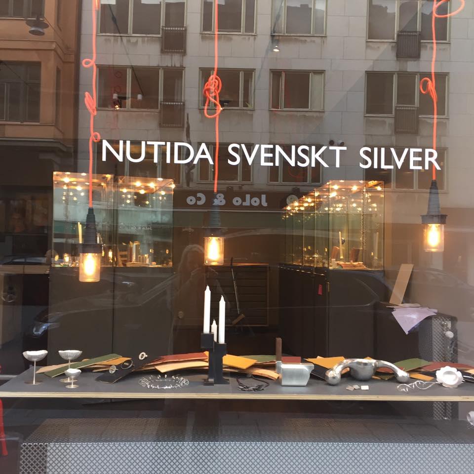 Nutida Svenskt Silver på Västmanagatan 49.